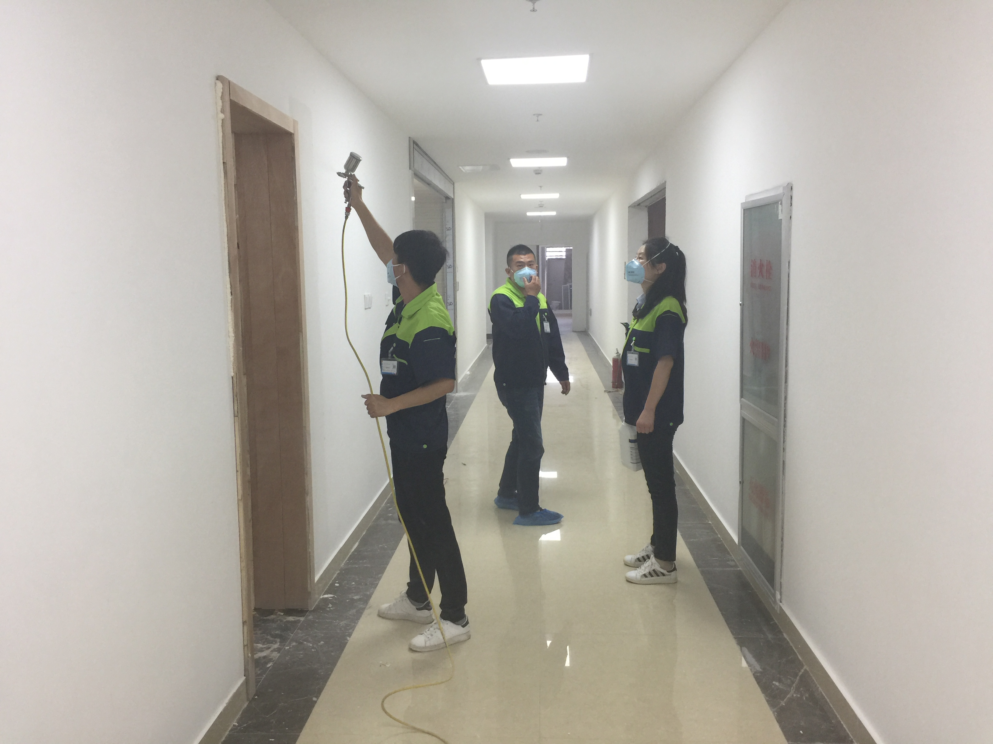新装办公场所的污染源识别及甲醛治理办法