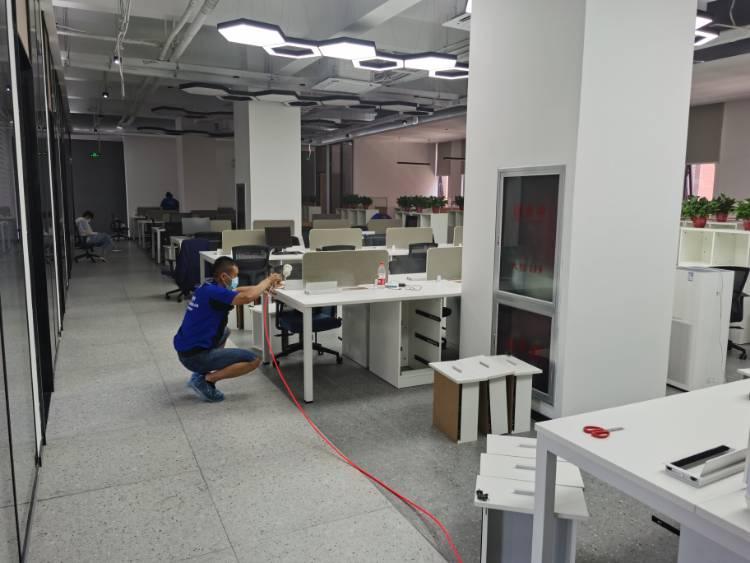 【办公除甲醛】济南银丰生物城E3栋办公楼平办公室环境空气净化服务